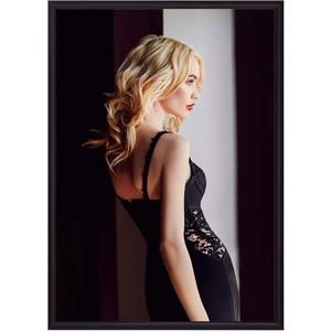 Постер в рамке Дом Корлеоне У окна 50x70 см фото