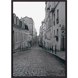 Постер в рамке Дом Корлеоне Улицы Парижа 50x70 см