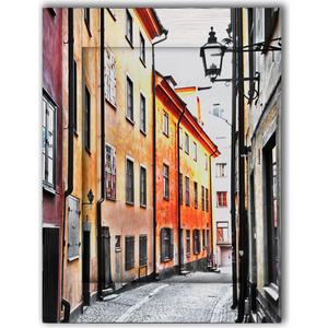 Картина с арт рамой Дом Корлеоне Улочки Стокгольма 60x80 см