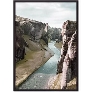 Постер в рамке Дом Корлеоне Ущелье 40x60 см фото