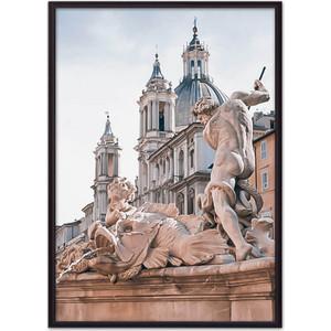 Постер в рамке Дом Корлеоне Фонтан Нептуна 50x70 см