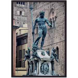Постер в рамке Дом Корлеоне Фонтан Нептуна Болонья 21x30 см