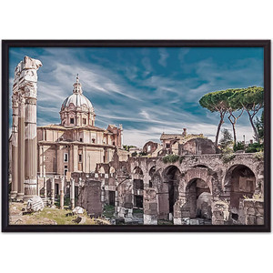 Постер в рамке Дом Корлеоне Форум Рим 21x30 см