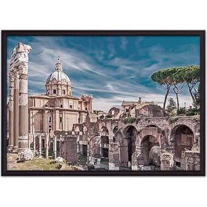 Постер в рамке Дом Корлеоне Форум Рим 50x70 см
