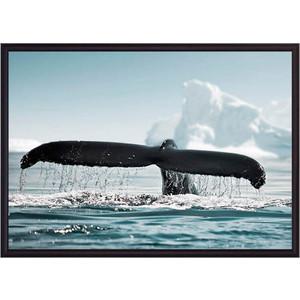 Постер в рамке Дом Корлеоне Хвост кита 30x40 см бахревский в фонтан три кита