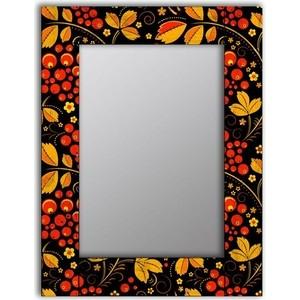 Настенное зеркало Дом Корлеоне Хохлома 90x90 см