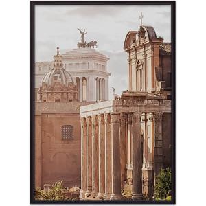 Постер в рамке Дом Корлеоне Храм Антонина и Фаустины 50x70 см