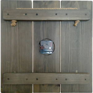 Настенные часы Дом Корлеоне Цветной циферблат 40x40 см
