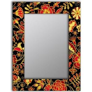 Настенное зеркало Дом Корлеоне Цветочная поляна 65x65 см