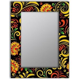 Настенное зеркало Дом Корлеоне Цветочный двор 90x90 см