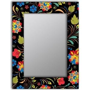 Настенное зеркало Дом Корлеоне Цветочный фейерверк 75x140 см