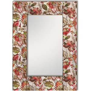 Настенное зеркало Дом Корлеоне Цветы Прованс 80x80 см