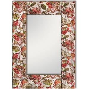 Настенное зеркало Дом Корлеоне Цветы Прованс 90x90 см
