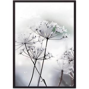 Постер в рамке Дом Корлеоне Цветы-зонтики 30x40 см