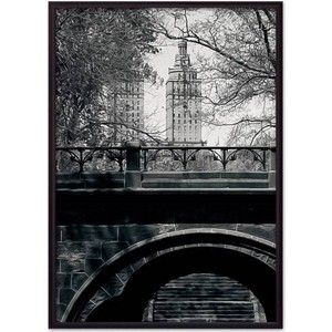 Постер в рамке Дом Корлеоне Центральный парк 30x40 см