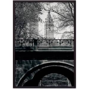 Постер в рамке Дом Корлеоне Центральный парк 40x60 см