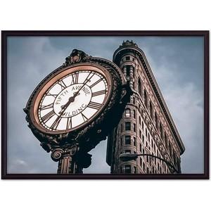 Фото - Постер в рамке Дом Корлеоне Часы Fifth Avenue 40x60 см the swans of fifth avenue