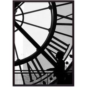 Постер в рамке Дом Корлеоне Часы Париж 21x30 см постер в рамке дом корлеоне крыши париж 21x30 см