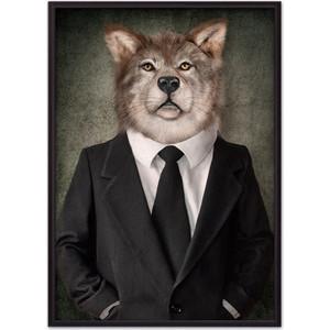 Постер в рамке Дом Корлеоне Человек-волк 40x60 см