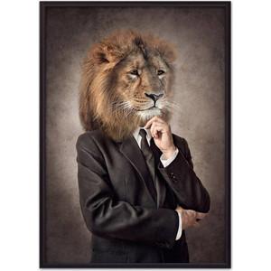 Постер в рамке Дом Корлеоне Человек-лев 50x70 см