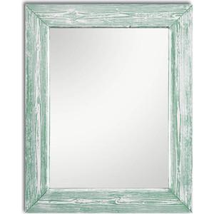 Настенное зеркало Дом Корлеоне Шебби Шик Зеленый 80x80 см