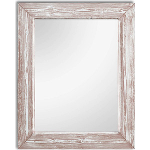 Настенное зеркало Дом Корлеоне Шебби Шик Розовый 75x110 см