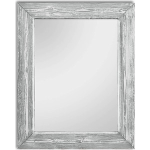 Настенное зеркало Дом Корлеоне Шебби Шик Серый 80x80 см
