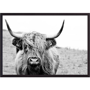 Постер в рамке Дом Корлеоне Шотландская корова 40x60 см cw 7937 xd фигура корова сонька sealmark