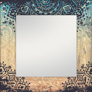 Настенное зеркало Дом Корлеоне Этника 90x90 см