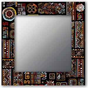 Настенное зеркало Дом Корлеоне Этнический микс 75x170 см фотоштора стильный дом фотошторы стильный дом этнический орнамент