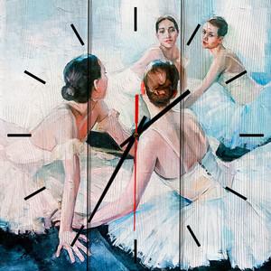 Настенные часы Дом Корлеоне Юные балерины 30x30 см фото