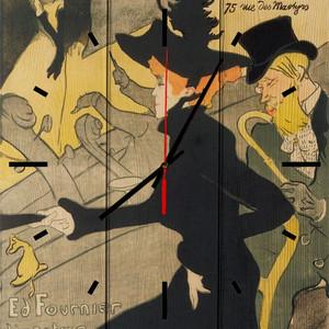 Настенные часы Дом Корлеоне Японский диван 40x40 см фото