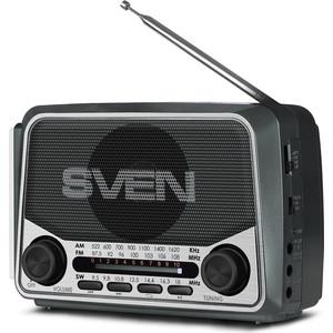 Радиоприемник Sven SRP-525 gray цена 2017