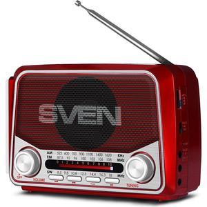 Радиоприемник Sven SRP-525 red цена 2017