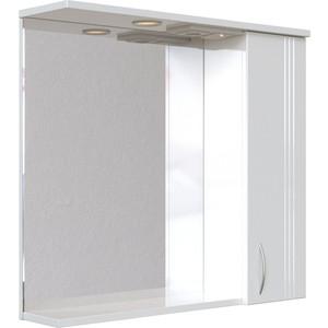 Зеркальный шкаф Sanstar Вольга 70 П белый (22.1-2.4.1.)