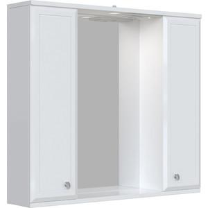 Зеркальный шкаф Sanstar Афина 80 белый (121.1-2.4.1.)