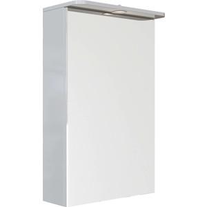 Зеркальный шкаф Sanstar 50 Л с подсветкой, белый (42.1-2.4.1.) фото
