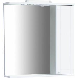 Зеркальный шкаф Sanstar Лира 70 белый (50.1-2.5.1.)