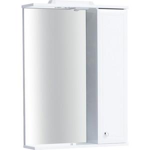 Зеркальный шкаф Sanstar Шармель 60 П белый (108.1-2.5.1.)