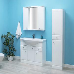 Мебель для ванной Sanstar Шармель 80 белая