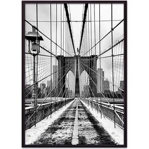 Постер в рамке Дом Корлеоне Бруклинский мост 07-0110-21х30 10pcs lot uda1352 uda1352ts tssop 28