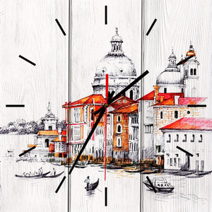 Настенные часы Дом Корлеоне Венеция 02-0052-40х40