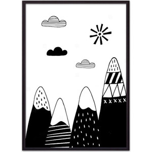 Постер в рамке Дом Корлеоне Горы 07-0615-50х70