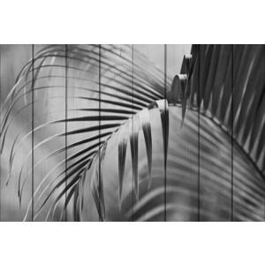 Картина на дереве Дом Корлеоне Пальмовые листья 01-0437-120х180
