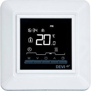 цена на Терморегулятор Devi DEVIreg OPTI электронный программируемый, белый