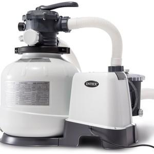 Песочный фильтр-насос Intex 26648, Krystal Clear, 10,5м3/ч, резервуар для песка 35кг