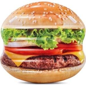 Надувной плотик Intex 58780 Гамбургер, 145х142 см