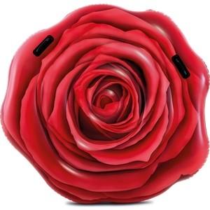 Надувной плотик Intex 58783 Роза, 137х132 см