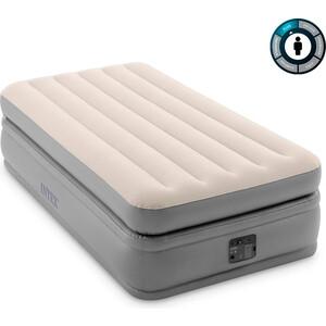 Надувная кровать Intex 64162 Prime Comfort Elevated 99х191х51 см встроенный насос 220V,