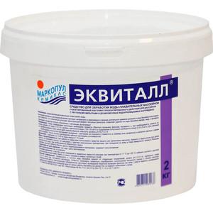 Коагулянт (осветлитель) ударного действия Маркопул Кемиклс ЭКВИТАЛЛ М544, 2 кг ведро, в таблетках